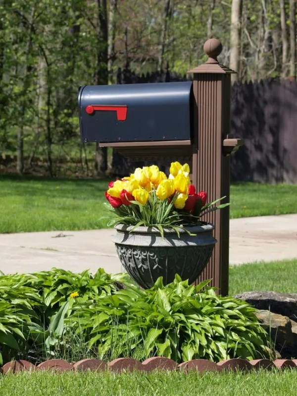 mailbox landscape design slideshow