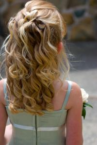 Wedding Hairstyles for Little Girls