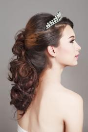beauty pageant hairstyle
