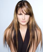 chunky highlights hairstyles