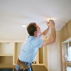 Kitchen Ceiling Fixtures Cost Of A New How To Install Recessed Lighting | Lovetoknow