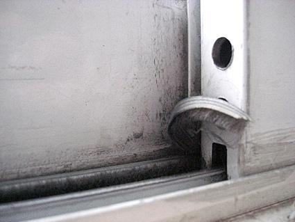 on sliding glass doors