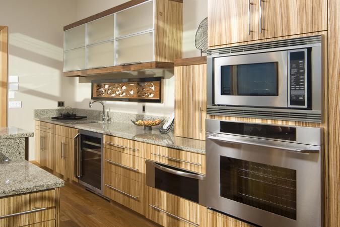 bamboo kitchen cabinets unique countertops lovetoknow