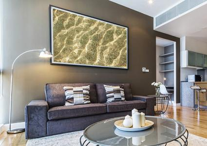 Image Result For How High Should A Picture Be Hung Above A Sofa