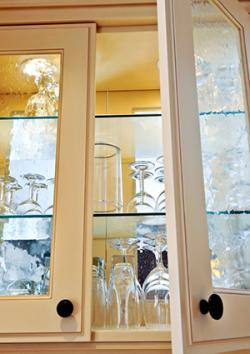 chip kitchen cabinets steamer glass front cabinet styles | lovetoknow