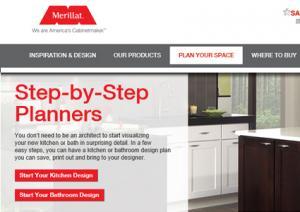 kitchen planners wine bottle themed decor interactive design lovetoknow merillat 3d planner plan your space