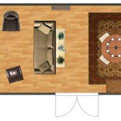 How To Decorate A Long Living Room With Fireplace At The End Mid Century Kitsch Narrow Lovetoknow Created Using Autodesk Homestyler Source Rooms