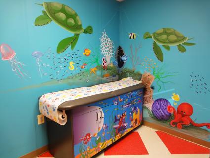 Animal Bedroom Wallpaper Pediatric Office D 233 Cor Ideas Lovetoknow
