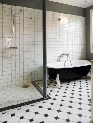 Black And White Bathrooms Lovetoknow