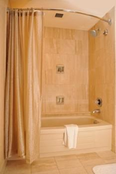 shower curtain rod options and types