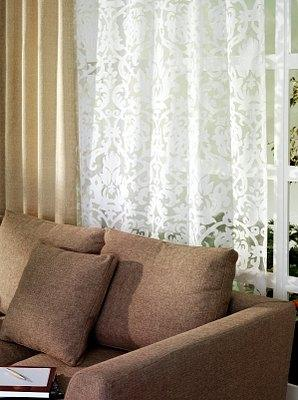 living room double curtain rods mission lovetoknow sheer curtains hung with drapes