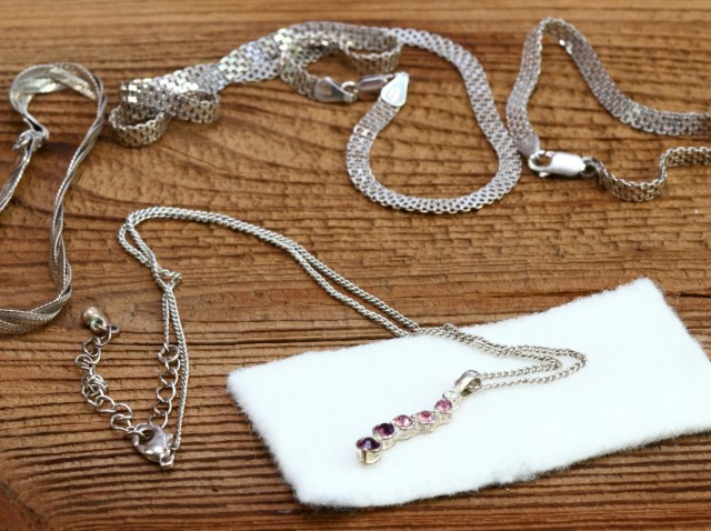 How to Clean Sterling Silver Necklaces  LoveToKnow