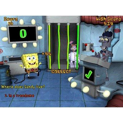 spongebob squarepants computer games