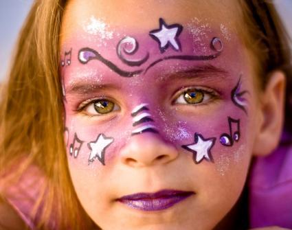 Free Festive Face Paint Design Photos LoveToKnow