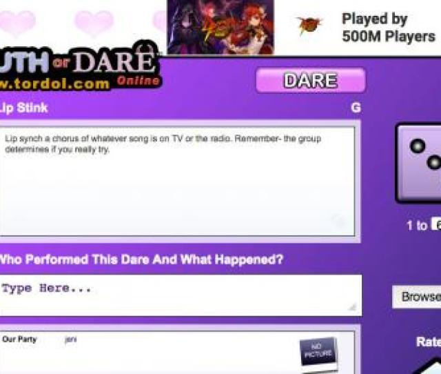 Truth Or Dare Online