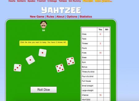 where to play yahtzee