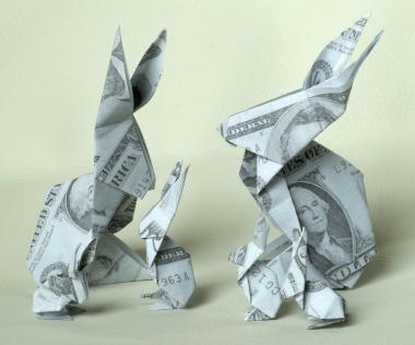 How To Fold A Money Origami Rabbit LoveToKnow