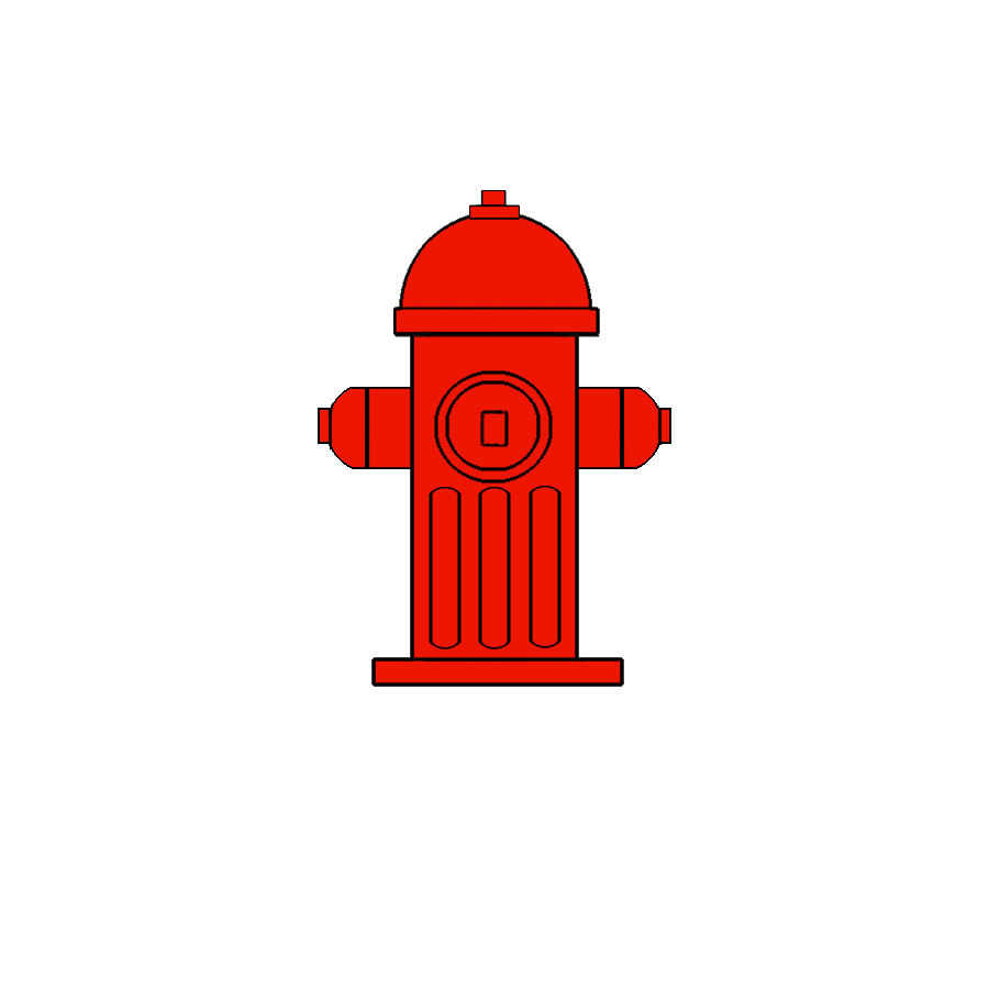 hight resolution of fire hydrant click art