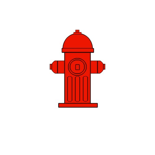 small resolution of fire hydrant click art