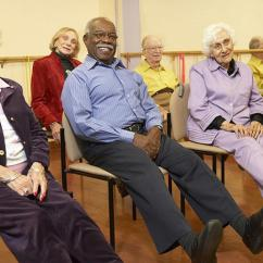 Chair Exercises For Seniors In Wheelchairs Plastic Chairs Covers Seated Photos Of