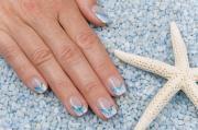 beachy nail design slideshow