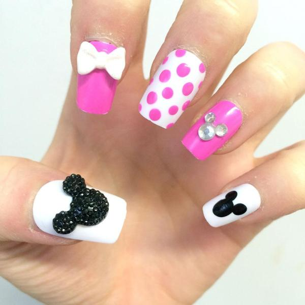 20 Mickey Mouse 3d Nail Art Pictures And Ideas On Meta Networks