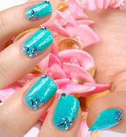 beachy nail design slideshow