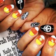 halloween nails lovetoknow