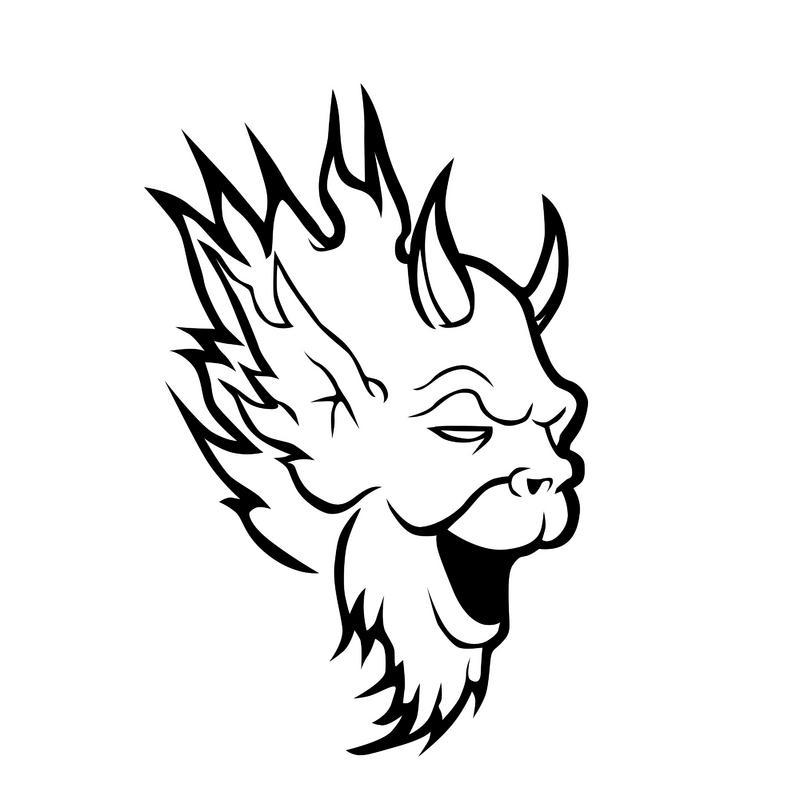 Devil Kazuya Drawing