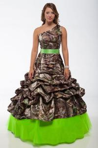 Camouflage Prom Dresses