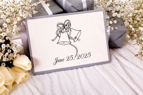 small resolution of black and white wedding clipart