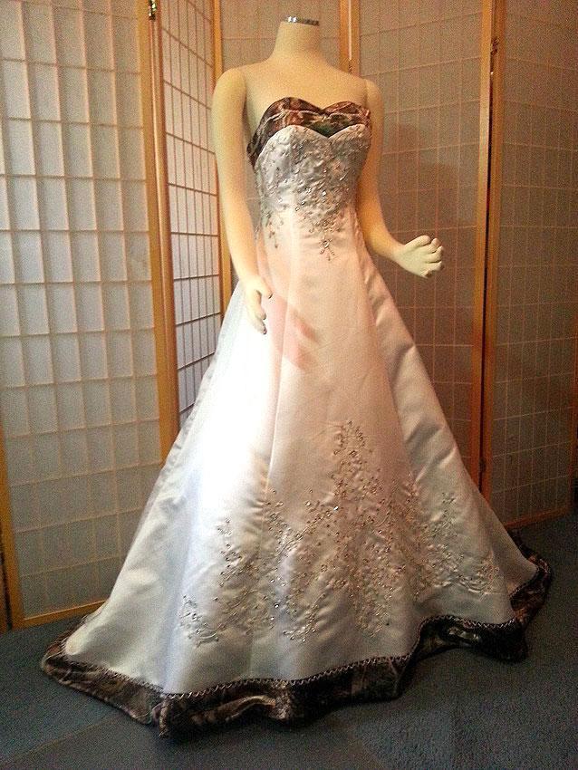 Camo Wedding Dresses Slideshow
