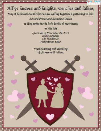Wording Wedding Invitation Templates Bride And Groom Hosting Informal Venue1