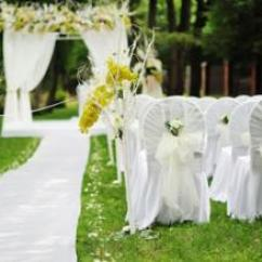 How To Make Easy Chair Covers For Wedding Desk Dimensions Cm Decorate A Park | Lovetoknow