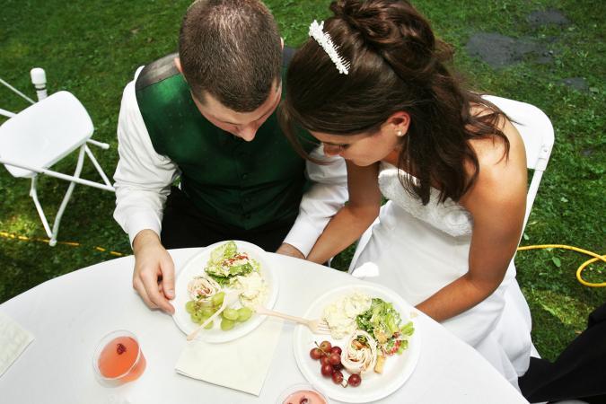 Dinner Prayers at the Wedding Reception  LoveToKnow