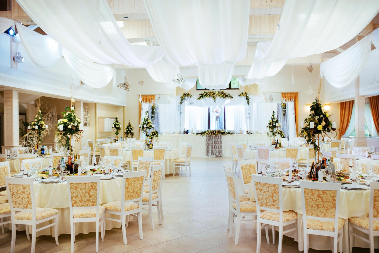 wedding reception table layouts