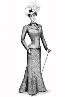 Edwardian women's fashion