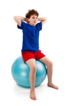 core ball chair babys first yoga and pilates moves for kids | lovetoknow