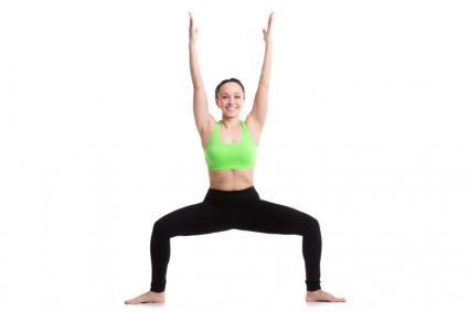 Image result for Goddess Pose