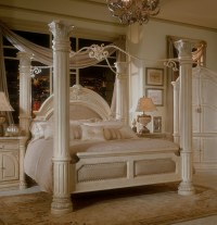 Aico Furniture Monte Carlo Ii 7 Piece Queen Poster Bedroom ...