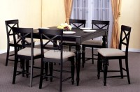 Details About Square Dining Dinette Kitchen Counter Height ...