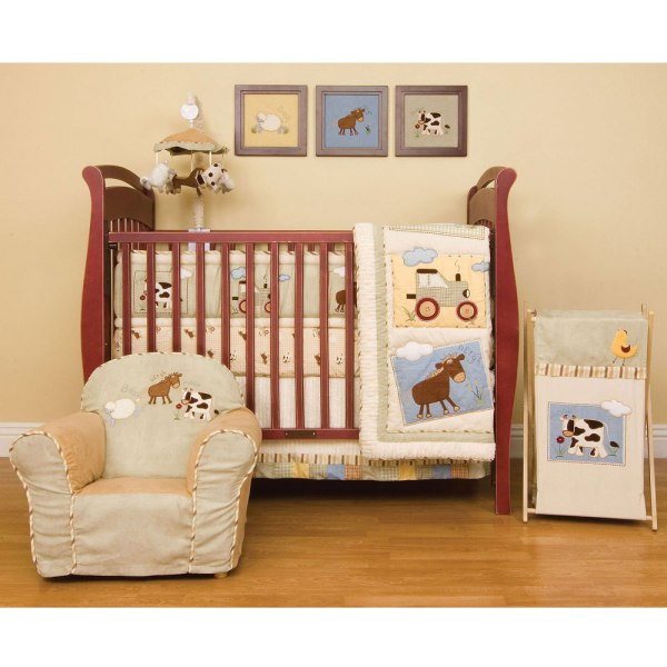 Baby Farm Animal Crib Bedding Sets