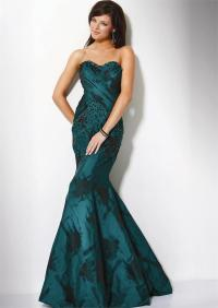 Mermaid Style Prom Dress - wedding dress plus size