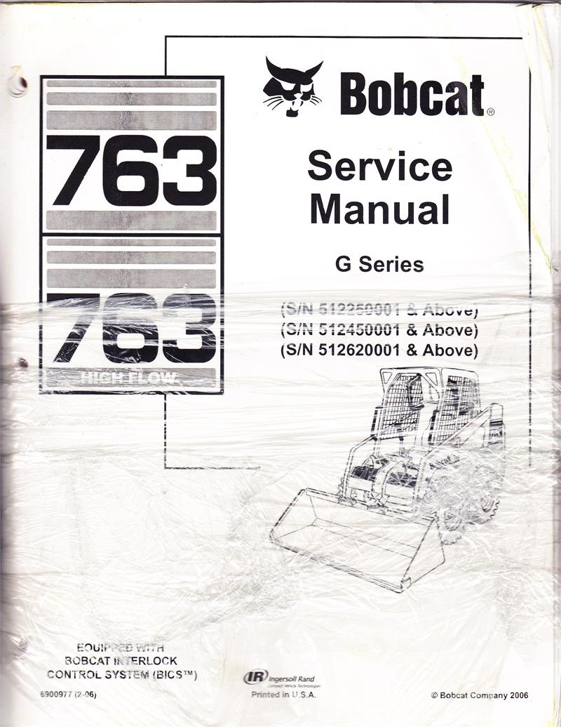 Bobcat 763 Parts Manual Pdf. Wiring. Wiring Diagram Images