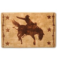 Western Bath Rugs : Wonderful Red Western Bath Rugs Photo ...