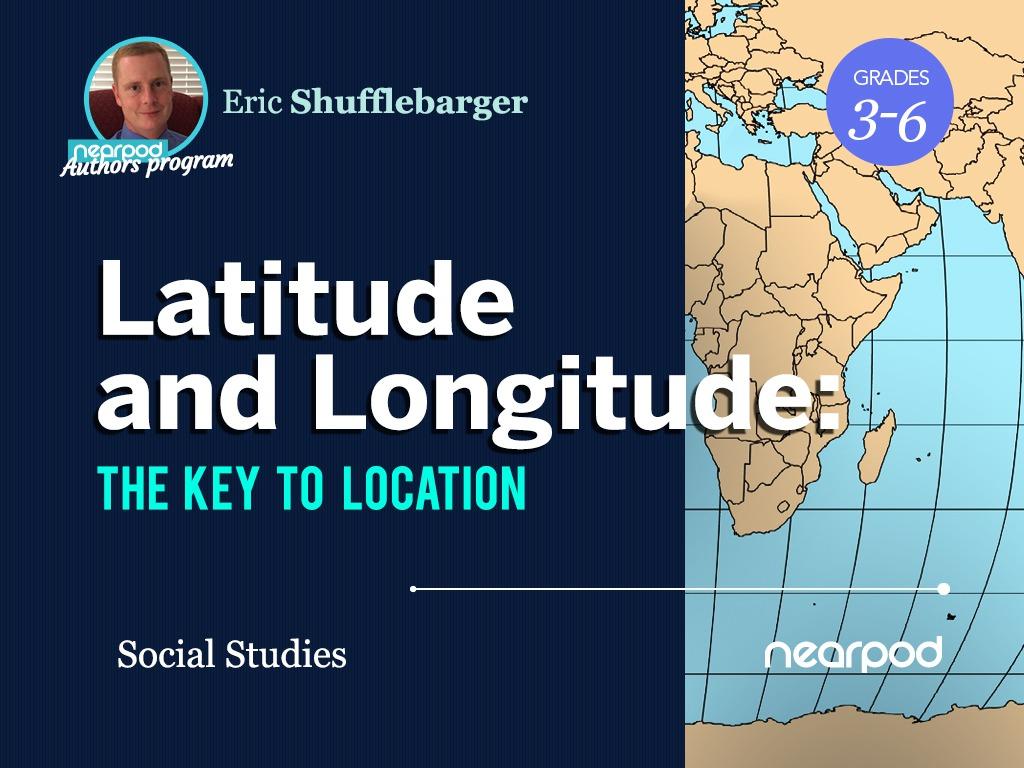 medium resolution of Latitude and Longitude