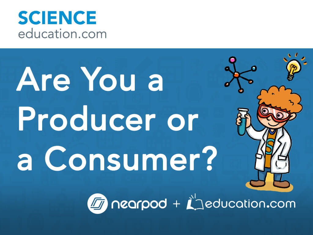 hight resolution of Are You a Producer or a Consumer?