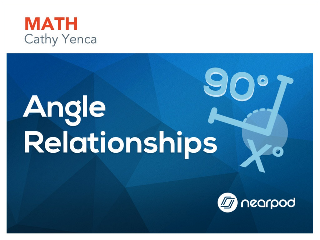 hight resolution of Angle Relationships