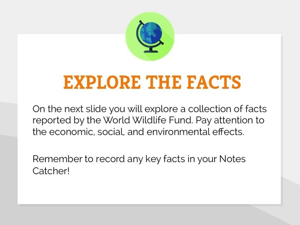 Key Facts Slide