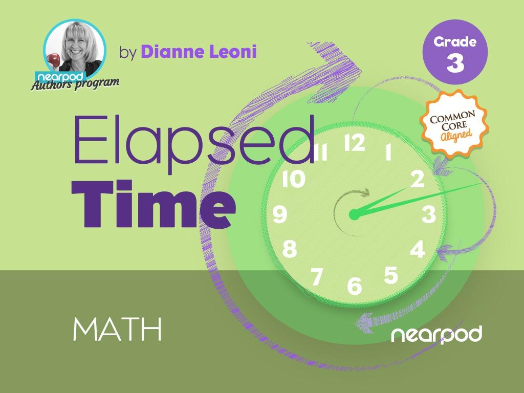 medium resolution of Elapsed time
